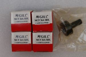 MCF26A SBX MCGILL New Cam Follower( Lot of 5 )