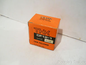 New THK Steel Cam Follower Bearing, 32mm Dia, 40mm Length, CF12-1 HuuRA