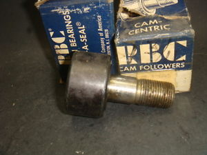 RBC CAM FOLLOWER BEARING, LOT OF 2, S-56-L, S56L,  IN BOX