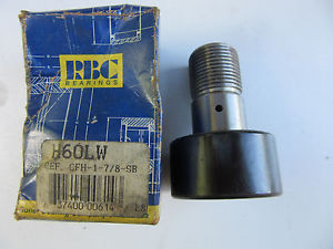 RBC H60LW Cam Follower CFH-1-7/8-SB !!! Free Shipping