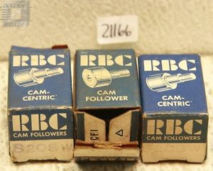 RBC S20SW Cam Follower Bearings (Lot of 3)