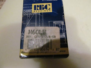 New in the Box RBC Cam Follower H60LW Free Shipping