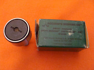 OLD STOCK ACCURATE BUSHING SMITH PRODUCTS CR-1 CAM FOLLOWER