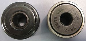"Lot of 2 Cam Follower Roller Bearings 1"" OD 5/16"" Bore 11/16"" Width NWOB"