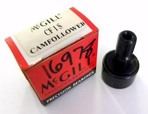 "BRAND  IN BOX MCGILL CAMFOLLOWER 1"" X 5/8"" MODEL CF1S"