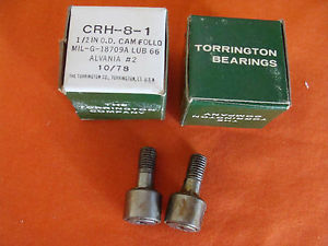 OLD STOCK THE TORRINGTON CO. CAM FOLLOWER CRH-8-1 LOT 2 OF 2