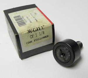 "BRAND  IN BOX MCGILL CF 1-1/8 CAMFOLLOWER 1-1/8"" X 1-21/32' X 5/8"" (3 AVAIL.)"