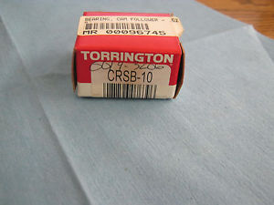Torrington Model:  CRS-10 Cam Follower Bearing.   New Old Stock