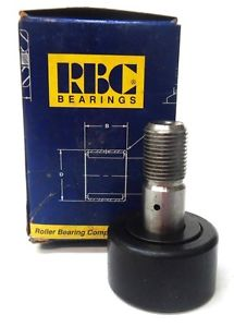 "RBC BEARING CAM FOLLOWER S56LWX, S-52-LW, ROLLER OD 1-3/4"", W 1"", STUD OD 3/4"""