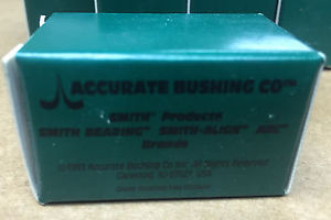 LOT of 17 Accurate Bushing HR-5/8-X Cam Follower  IN BOX!