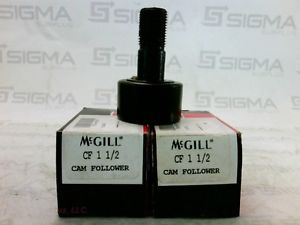 McGill CF 1 1/2 Cam Follower New (Lot of 2)