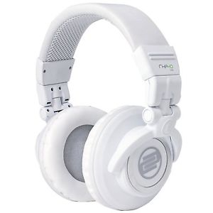 Reloop*RHP-10-LTD+WARRANTY*White Professional DJ Headphones FREE 2 DAY SHIP
