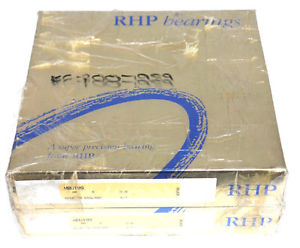 LOT OF 2 NIB RHP MBU199 PRECISION BEARINGS 9-7-5