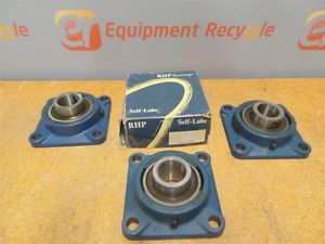 RHP 4 Bolt Flange Bearings 36-3387-0002 New Lot of 4