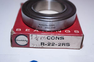 """""""  OLD"""" Consolidated Ball Bearing R-22-2RS / RHP KLNJ 1-3/8 – 2ZEP1"""