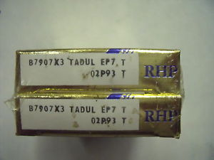 RHP B7907X3TADULEP7Angular Contact Ball Bearing