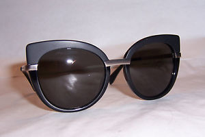 MARC BY MARC JACOBS SUNGLASSES MMJ 489/S RHP-NR BLACK/BROWN GRAY AUTHENTIC