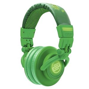 Reloop*RHP-10-GR+WARRANTY*GreenLeaf Professional DJ Headphones FREE 2DAY SHIP
