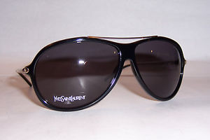 YVES SAINT LAURENT SUNGLASSES YSL 2354/S RHP-Y1 BLACK/GRAY AUTHENTIC