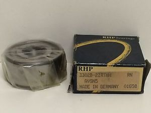 OLD STOCK RHP SHIELDED ENCLOSED BALL BEARING 3302B-2ZRTNH