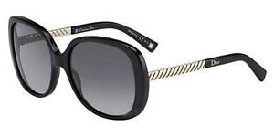 Christian Dior Ever 1 RHP HD Sunglasses, Case, Lense Cloth & Gift Box Black