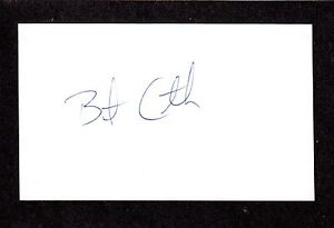 Brent Crowther RHP MINORS 1994-96  ROCKIES  SIGNED AUTOGRAPH AUTO 3×5 INDEX COA