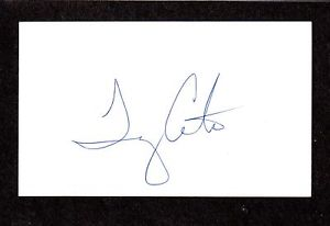 Tim Costa RHP  MINORS 1992-98  PHILLIES  SIGNED AUTOGRAPH AUTO 3×5 INDEX COA