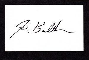 Joe Bauldree RHP  MINORS 1995-98 ATL BRAVES  SIGNED AUTOGRAPH AUTO 3×5 INDEX COA