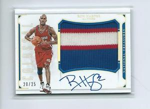 2015-16 National Treasures BKB #CJ-RHP Ron Harper Clippers PATCH AUTO #20/25!!