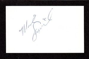 Mark Sievert RHP MINORS 1993-99  JAYS  TEX  SIGNED AUTOGRAPH AUTO 3×5 INDEX COA