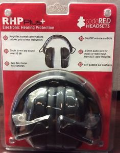 RHP Plus Electronic Hearing Protection CodeRed Headsets