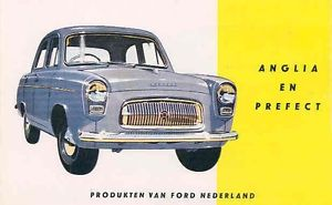 1959 Ford Anglia & Prefect Sales Brochure Dutch wb2406-Q3RHP8
