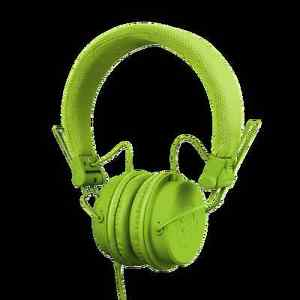 Reloop RHP-6 Ultra Compact DJ and Lifestyle Headphones Green