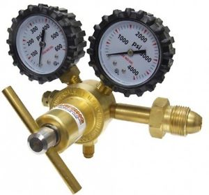 Uniweld RHP400 Nitrogen Regulator With 0-400 PSI Delivery Pressure, CGA580 And