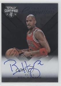2015 Panini Totally Certified Competitor Autographs #CCA-RHP Ron Harper Auto 1m0