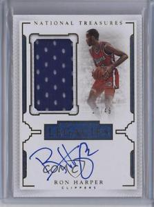 2015-16 Panini National Treasures LL-RHP Ron Harper /49 Auto Basketball Card 0z9
