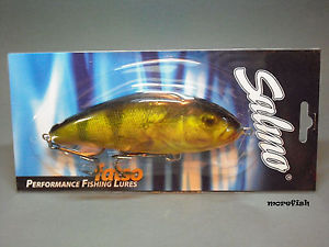 Salmo Fatso Jerkbait 14S Sinking – RHP Real Hot Perch