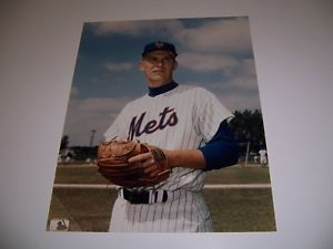 Bob Miller  of The NY Mets  (RHP ) Color Baseball Po 8 x 10