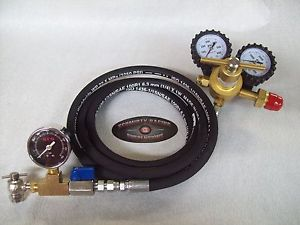 Shock Nitrogen Regulator 8' Hose No Loss Chuck Fill-Kit SRS Gauge Tool 400 Fox
