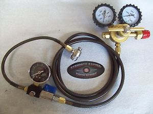 NITROGEN REGULATOR 8' STAINLESS SHOCK FILL TOOL NO LOSS CHUCK  400 Fox King ORI