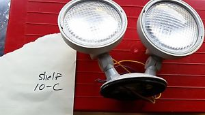 Lot of 5- Philbin Emergency Lighting VW2RHP Wet Location Remote Lamp Head 6 Volt