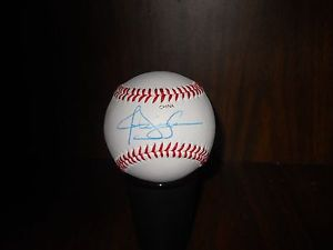 JASON ISRINGHAUSEN, RHP Reliever Mets/A's/Cards Autographed Baseball