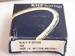 RHP KLNJ1/4 2ZYC Bearing SD8