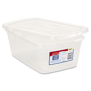 Impressions Shoebox, 6.5 Qt Clear