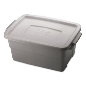 Roughneck Storage Box, 10 3/8 x 15 7/8 x 7, 3 Gallon, Steel Gray – RHP 2213 STE