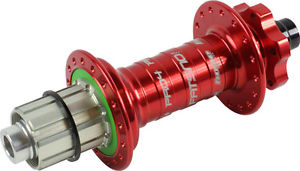 Hope Fatsno Pro 4 Rear Hub 32H 177mm x 12mm Red