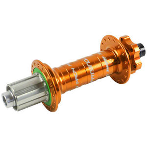 Hope Fatsno Pro 4 Rear Hub 32H 197mm x 12mm Orange