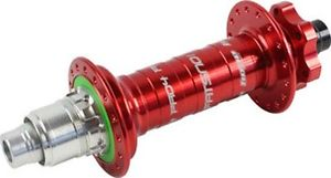 New Hope Fatsno Pro 4 Rear Hub 32 Hole 197 mm x 12 mm Red XD