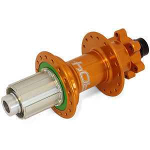 Hope Pro 4 Rear Hub 32H 157×12 44Pt Engagement Orange – Brand New