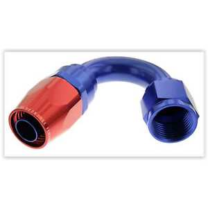 Red Horse Products 1150-06-1 Hose End -06 150 DEGREE FEMALE ALUMINUM HOSE